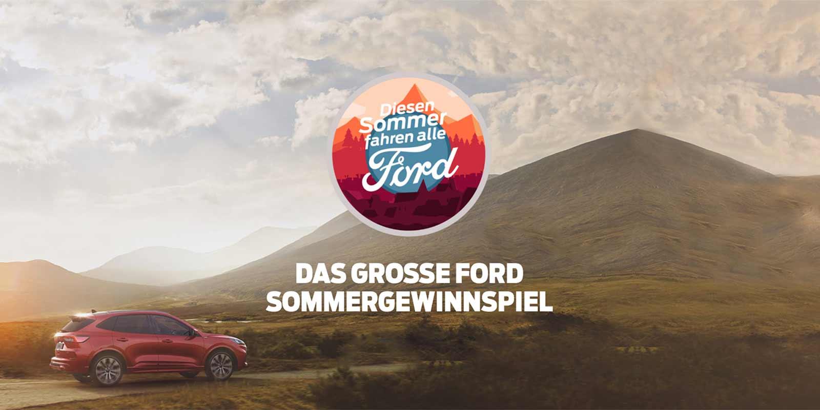 Das große Ford Sommergewinnspiel