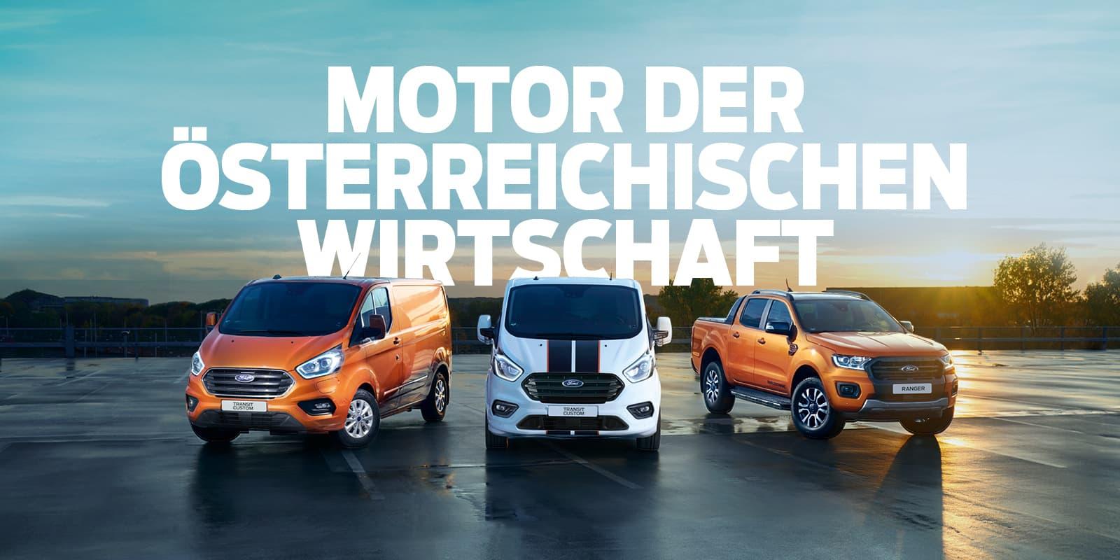 Lagerabverkauf bei Ford Nutzfahrzeugen