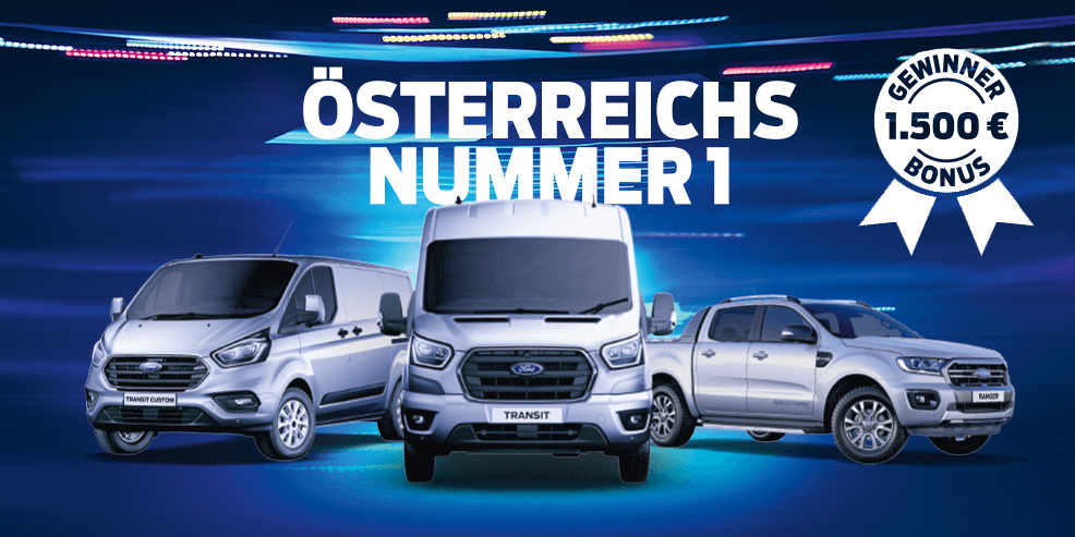 Die Ford Gewinner-Wochen mit unschlagbaren Angeboten